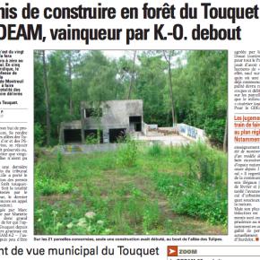 Constructions illégales au Touquet