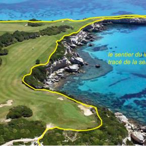 Exemple de censure d'un tracé complaisant de sentier littoral